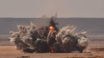 Zerstörung von Kriegsrückständen in Libyen am 26. Juni 2013