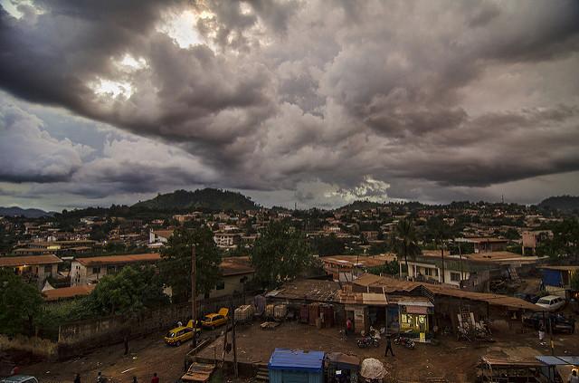Hügel von Yaoundé