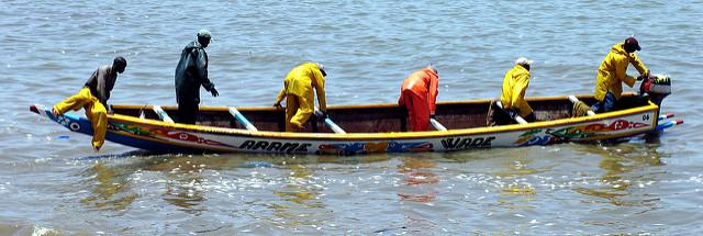 Senegalisisches Fischerboot