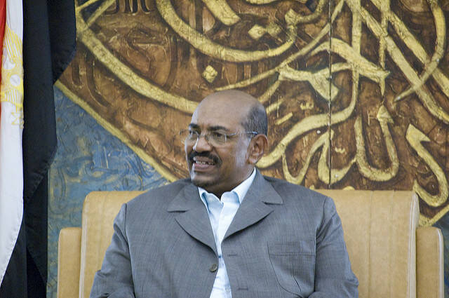 Präsident al-Bashir Präsident al-Bashir |  Bild: © Sebastian Baryli [(CC BY 2.0) ]  - flickr