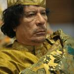Muammar al-Gaddafi auf dem 12. Gipfel der Afrikansichen Union am 2. Februar 2009 Muammar al-Gaddafi auf dem 12. Gipfel der Afrikansichen Union am 2. Februar 2009 | Bild (Ausschnitt): © U.S. Navy photo by Mass Communication Specialist 2nd Class Jesse B. Awalt [public domain] - Wikimedia Commons