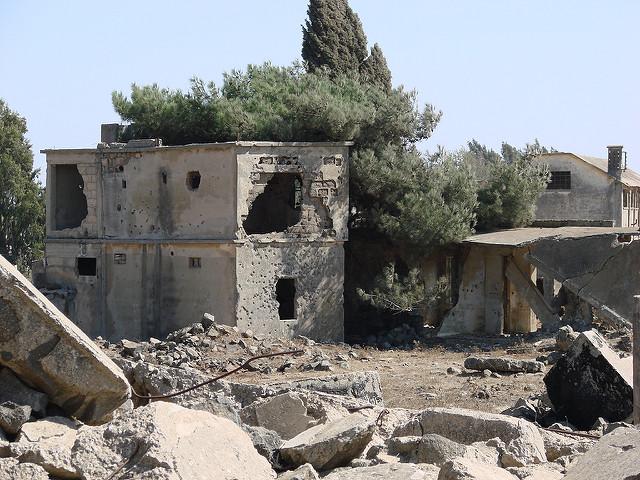 Haus zerstört Syrien