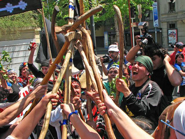 Mapuche Mapuche in Chile kämpfen für ihre Rechte |  Bild: © David Suazo Quintana [CC BY-NC 2.0]  - flickr