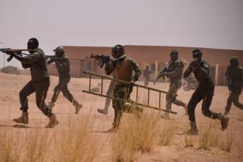 Trining in Westafrika |  Bild: © USAFRICOM [CC BY 2.0]  - flickr