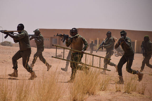 Trining in Westafrika |  Bild: © USAFRICOM [CC BY 2.0]  - flickr