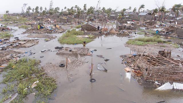 Das Ausmaß der Zerstörung durch Idai in Mosambik |  Bild: © Climate Centre [CC BY-NC 2.0]  - flickr