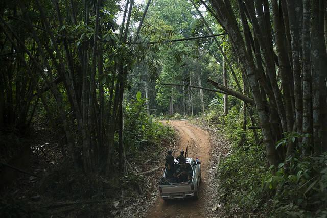 """Militärisches Kontrollgebiet Myanmar Militärisches Kontrollgebiet Myanmar    Bild: """"Kyaukkyi_04"""" © Norwegian People's Aid [CC BY 2.0]  - flickr"""
