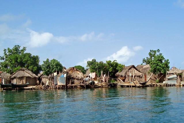Insel in Guna Yala Der steigende Meeresspiegel bedroht die Heimat der indigenen Kuna |  Bild: © Terry Liann Morris [CC0 1.0]  - flickr