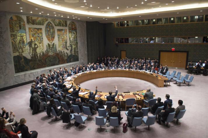 Der UN-Sicherheitsrat bei einer Abstimmung Der UN-Sicherheitsrat bei einer Abstimmung |  Bild: © United Nations Photo [CC BY-NC-ND 2.0]  - Flickr