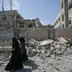 Zwei Frauen im kriegszerstörten Sanaa, Jemen Zwei Frauen im kriegszerstörten Sanaa, Jemen | Bild (Ausschnitt): © Felton Davis [CC BY 2.0] - flickr