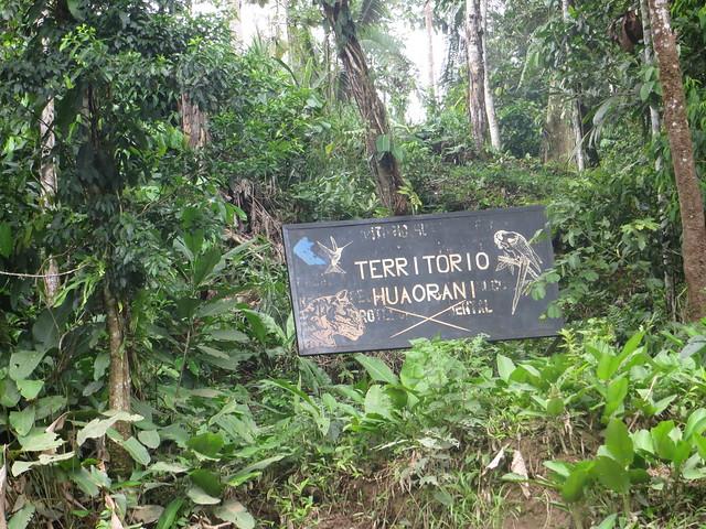 Waorani -ecuadorianischer Amazonas