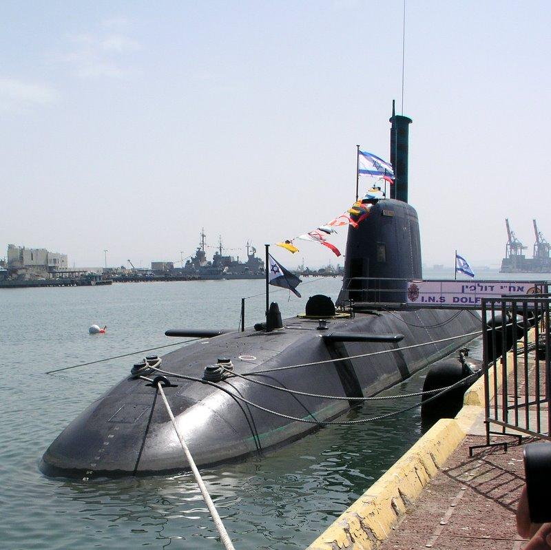 U-Boot der Dolphin-Klasse der israelischen Marine im April 2010