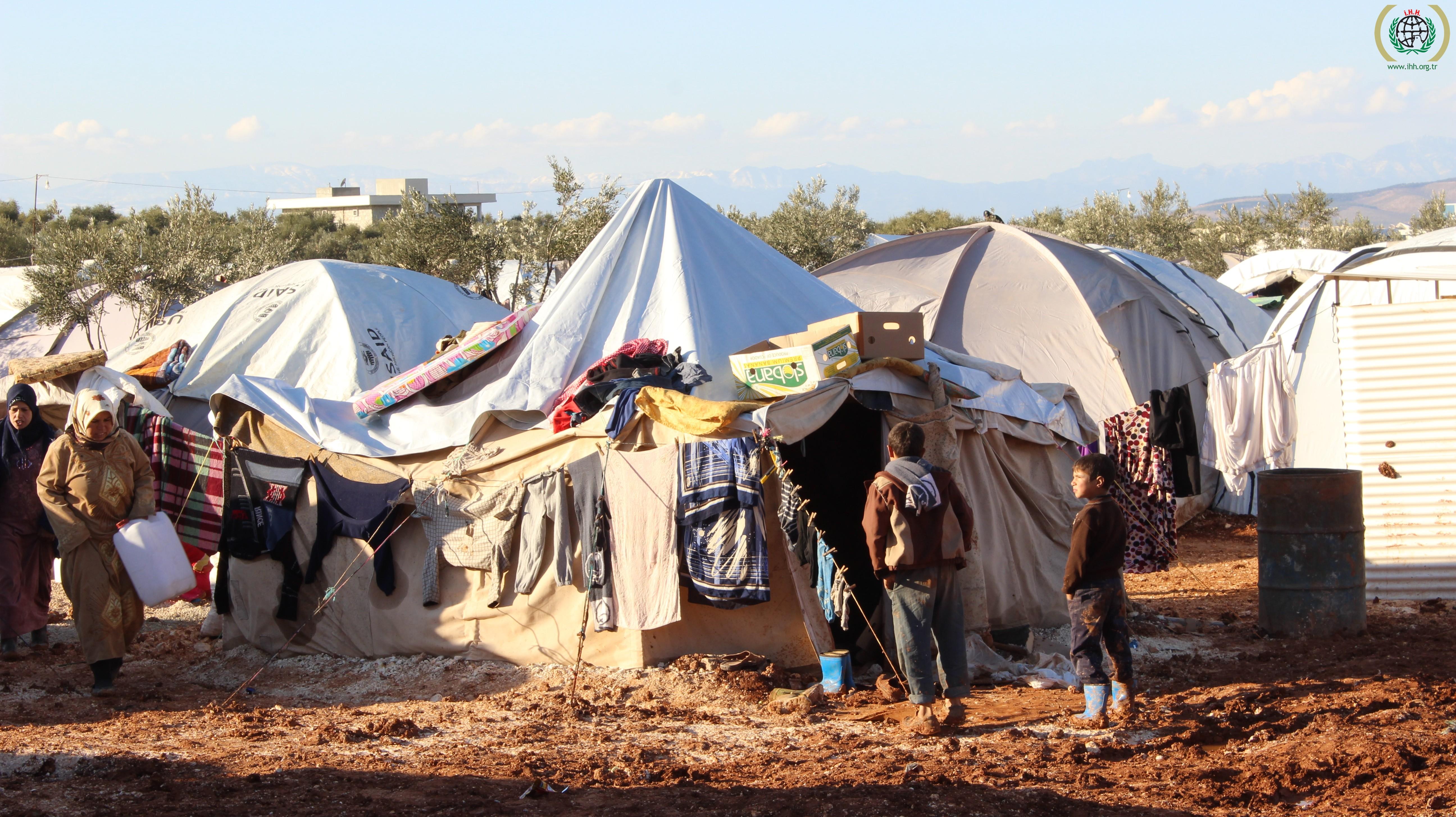 Flüchtlingscamp in Aleppo |  Bild: © IHH Humanitarian Relief Foundation [CC BY-NC-ND 2.0]  - flickr