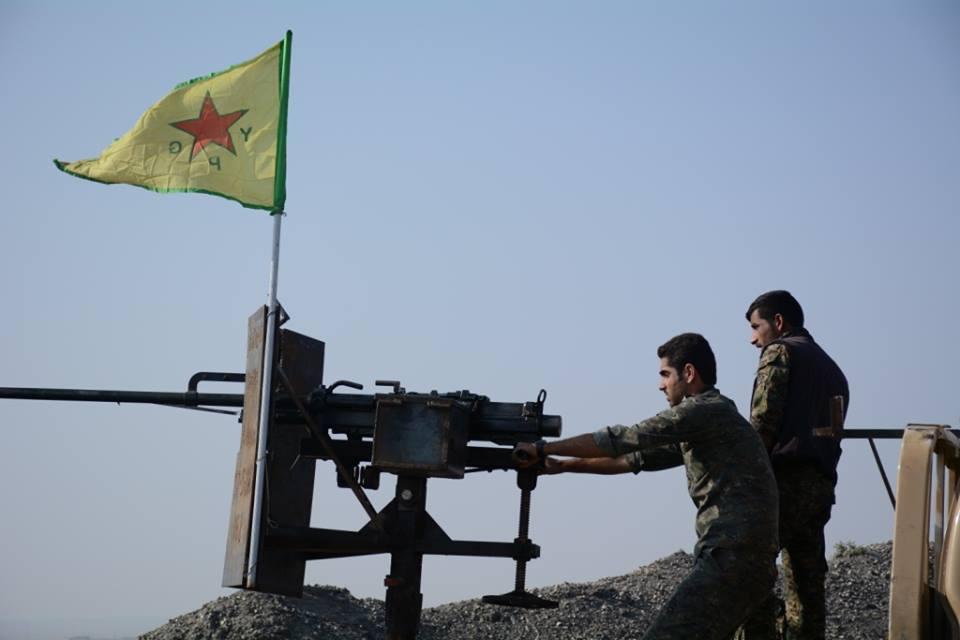 Kurdische YPG-Kämpfer  |  Bild: © Kurdishstruggle [CC BY 2.0]  - flickr