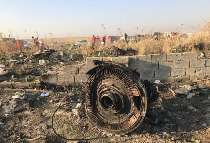 Nach dem versehentlichen Abschuss einer ukrainischen Passagiermaschine durch den Iran kam es zu Protesten gegen das Regime    Bild: © mehrnews.com [CC BY 4.0]  - Wikimedia Commons